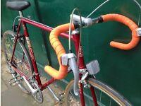 60cm Vintage Classic Raleigh road race racing bike. Fast on road racer bicycle