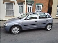 Vauxhall Corsa 1.2 petrol 2003. Automatic and semi automatic. Low mileage 57000.Good condition.