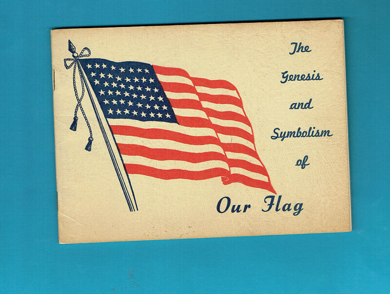 #T46.   FLAGS OF THE USA BOOKLET  PRESENTED IN A RELIGIOUS & PATROTIC WAY