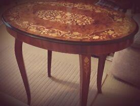 Handmade Italian Musical Table