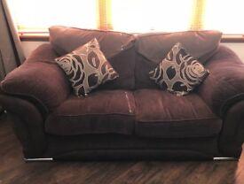 Brown sofology sofa