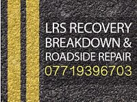 24 Hour Breakdown Recovery Service | LRS Recovery