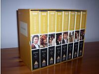 POLDARK - BRAND NEW BOXED SET VHS TAPES x 8 + Poldark Country Book