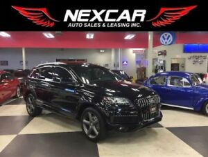 2015 Audi Q7 3.0T S-LINE 7 PASS NAVI PUSH START PANO/ROOF 95K