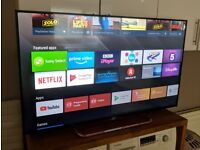 """Sony 4K 55"""" HDR Smart Android TV"""
