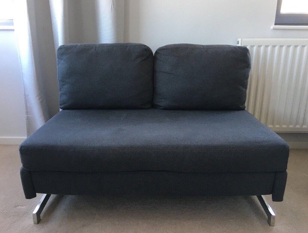 2 Seater Grey Made Motti Armless Sofa Bed In London Bridge London Gumtree