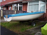 14ft skipper dinghy,double skinned