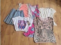 Ladies Size 8 Clothes Bundle including Topshop