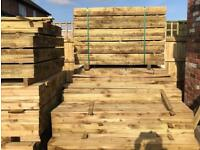 🛎New Tanalised Feather Edge Fence • Panels • Timber Fence Pieces