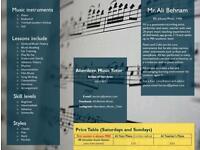 Piano music teacher in Aberdeen Bridge of Don