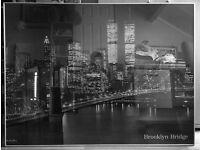 NEW YORK LARGE PANORAMIC PHOTO IN ALUMINIUM FRAME
