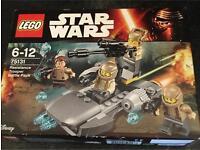 Star Wars resistance trooper battle pack Lego new