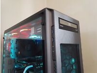 "4K / VR Ultimate Gaming PC i5 4670K /16GB Ram/1TB SSHD /8GB Graphic/24"" LED Monitor"