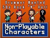 Drummer Wanted for 50's Rock'N'Roll band 'NPC'