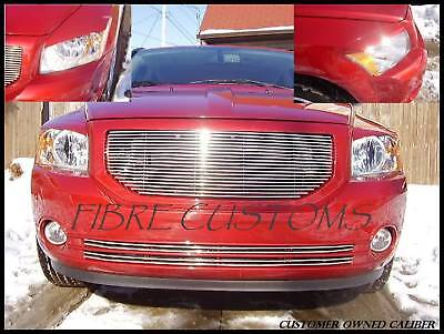 Made to fit Dodge Caliber Eyelids  06 07 08 09 10 11 12 CB Headlight Grille