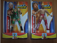 Ryback and Daniel Ryan WWF Double Attack Wrestlers