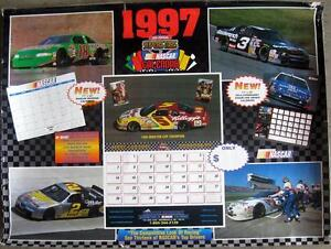 1997 Superstars of Nascar Poster Sports Winston Cup Champions