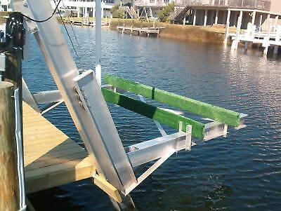 10 Aluminum Boat - BOAT LIFT ALUMINUM ELEVATOR BOAT LIFT 10,000 LBS