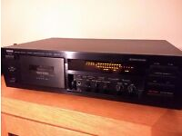 HiFi cassette deck Yamaha kx-580 Special Edition, Dolby B C S very good condition, FREE gift!