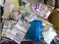 MASSIVE bundle of cardmaking & scrapbooking stuff over 200 items