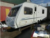 Sterling elite twin axle 4berth caravan