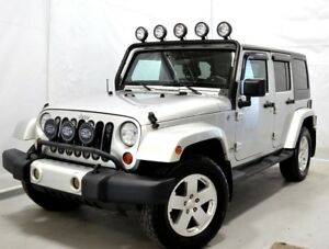 2012 JEEP WRANGLER UNLIMITED SAHARA UNLIMITED TOIT RIGIDE 4X4 AW