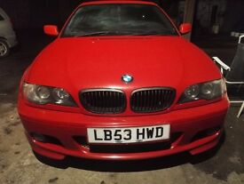 Bmw e46 318ic msport red 2004