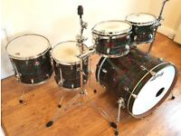 IMMACULATE!! Ludwig Element SE Limited edition 6 piece drum kit, cherrywood in psychedelic finish