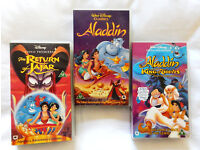 Walt Disney Video Bundle - The Aladdin Trilogy (3 videos)