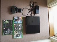 Xbox One 500GB Bundle Including 5 Games, One Limited Edition Controller, Charging Bay