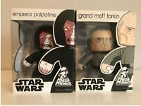 Mighty Muggs Star Wars figures, new in sealed boxes