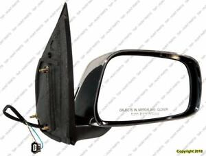 Door Mirror Power Passenger Side Extended Cab Le Chrome Nissan FRONTIER 2005-2010