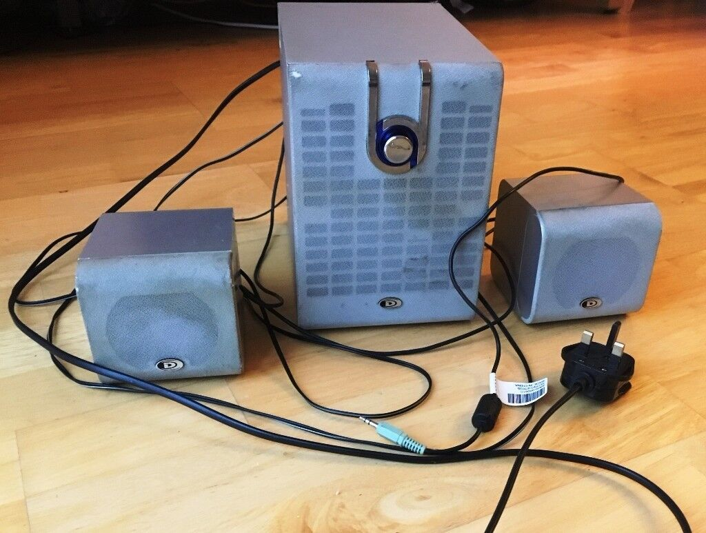 Durabrand Home Theater System 2.1 PC Speakers | in Houghton Regis ...