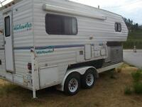 11 ft Camper with Tandem Trailer