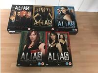 Complete full series of Alias in 5 boxsets