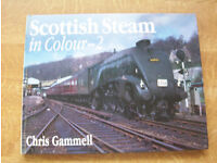 Selection of over 50 books on steam trains