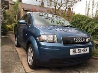 AUDI A2 2002 with FSH 75000 miles