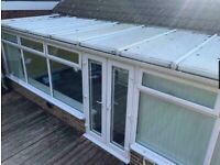 Used PVC Conservatory