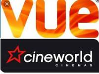 2 Cinema tickets-collection not required, code will be given