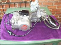 YX140CC PIT BIKE ENGINE FOR REPAIR OR SPARES WITH MOLKT CARB - OIL COOLER - RACE CDI - COIL.