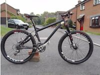 Specialized S Works full suspension mountain bike