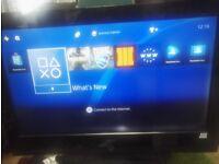32 inch HD ready Hitachi TV television
