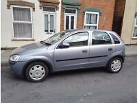 Vauxhall Corsa 1.2 petrol 2003 low mileages. Good condition Automatic