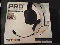 NEW!! Unboxed Tritton Pro Surround Sound 5.1 Gaming Headset