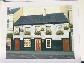 Pub Paintings oil on canvas