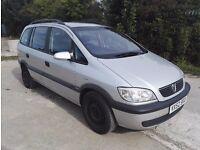 Vauxhall Zafira 1.6 i 16v Comfort 5dr,full MOT
