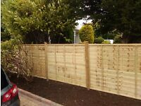YOUR GARDEN NEEDS ME fencing , hedge cutting , tree services , turf, decking