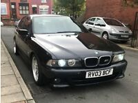 BMW E39 525I SPORT 2003 (03) PLATE AUTO/ TRIPTRONIC