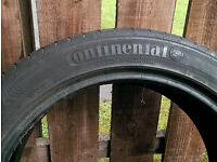 Continental Sport Contact 3 Tyre(1x) 245 45 18 Part worn 4mm