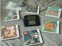 Nintendo 2s with yokai watch and games
